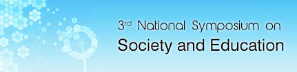 2nd National Symposium on Society and Education